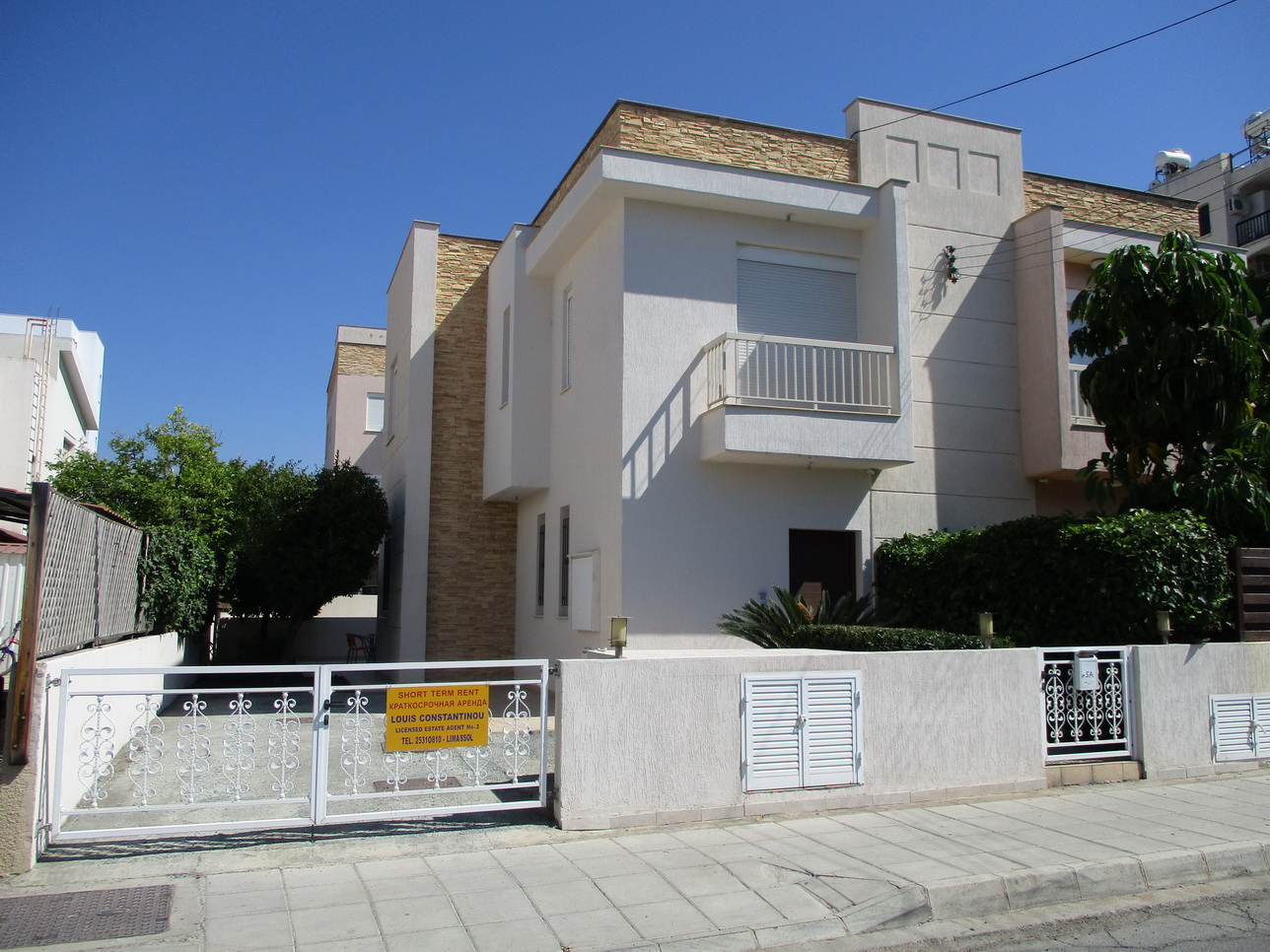 3 Bedroom Semi-Detached House for rent in Potamos Germasogeias ... on log cabin plans 3 bedroom, duplex plans 3 bedroom, maisonette plans 3 bedroom,