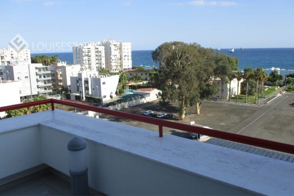 Unfurnished 3 bedroom Sea View Penthouse for rent in Limassol