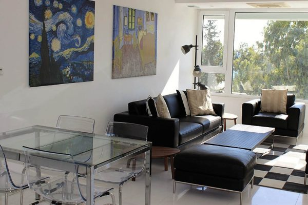 3 Bedroom Sea View Duplex Apartment for Sale in Limassol Tourist Area