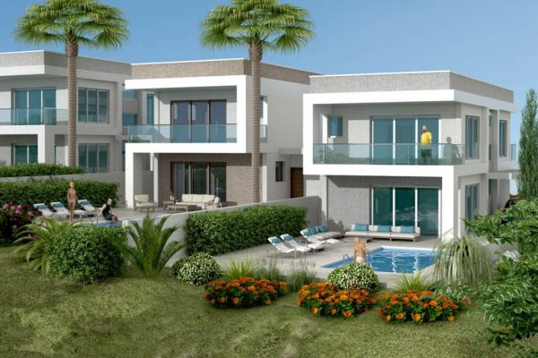 Brand New Houses for Sale in Yermasoyia, Limassol