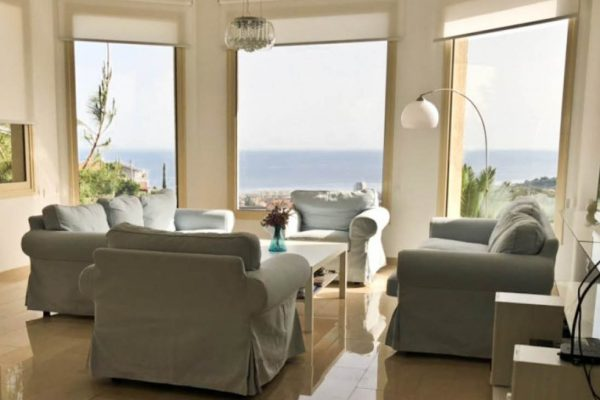 5 Bedroom Sea View House for Rent in Ayios Tychonas, Limassol