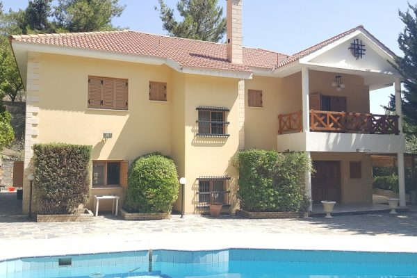4 Bedroom House for Sale in Nature Forest, Moniatis Village, Limassol