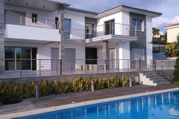 3+1 Bedroom Sea View Villa for Sale in Agios Tychonas, Limassol