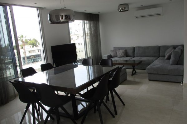 4 Bedroom Spacious & Modern Apartment for rent just opposite the Sea, Potamos Germasogeia, Limassol
