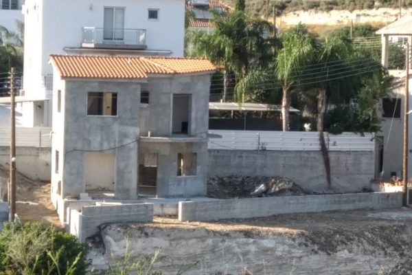Uncompleted 3 Bedroom House for Sale in Palodeia, Limassol