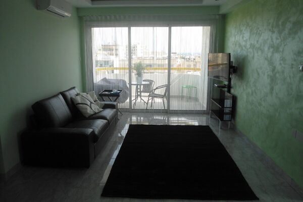 Centrally Located 2 Bedroom + Office Room Apartment for rent, Agia Zoni, Limassol