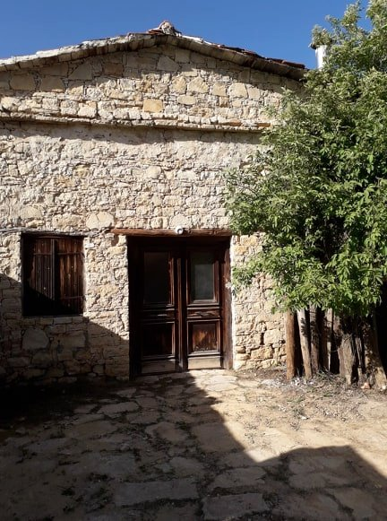 Traditional Stone-Built House for Sale in Lofou Village, Limassol