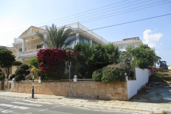 4+1 Bedroom Sea-View House for Sale in Ag. Athanasios, Limassol