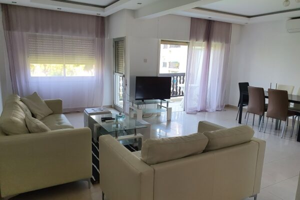Spacious 3 Bedroom Apartment for rent close to the Beach in Tourist area, Potamos Germasogeia, Limassol