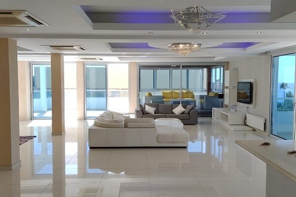 6 Bedroom Luxury Penthouse for rent in Tourist area, Ag. Tychonas, Limassol