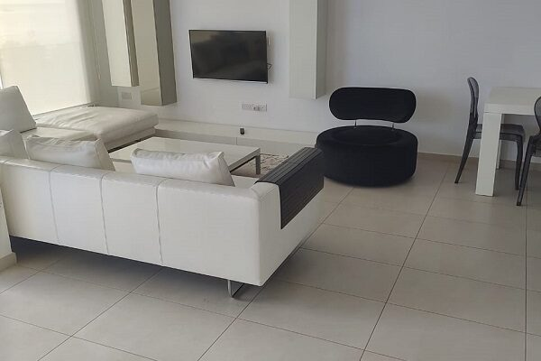 Seafront 3 Bedroom Apartment for rent in Tourist area, Pot. Germasogeia, Limassol