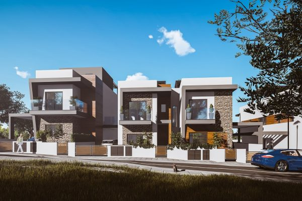 4 Bedroom Semi-Detached House for Sale in Ag. Athanasios, Limassol